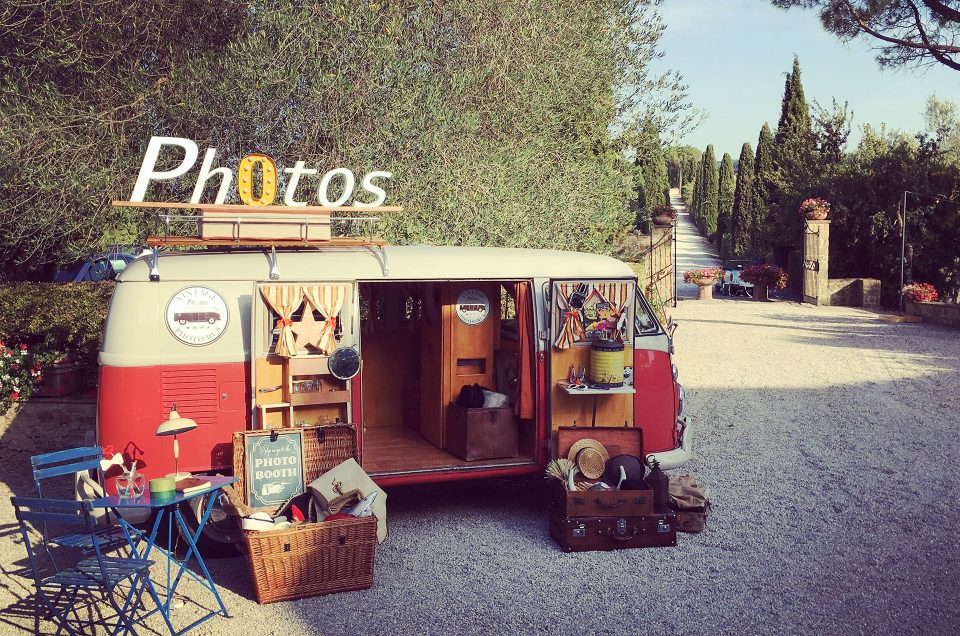 Unconventional Wedding: il photo booth di Vintage Photo Bus
